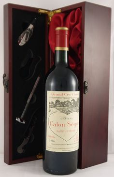 1985 Chateau Calon Segur #vintage #wine sweet, full bodied, concentrated with along smooth finish.