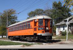 RailPictures.Net Photo: CNS&M 727 Chicago North Shore & Milwaukee Railroad Interurban at Mason City, Iowa by Jeff Terry