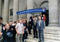 1997 Outside the Caird Hall #dundeeuni50