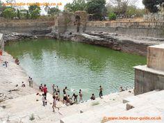 Bhim Lath Kund at Chittaurgarh Fort in India.