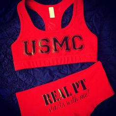 Real PT starts with me! ;) USMC girlfriend* hahahaha i want this