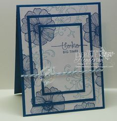 Debbie's Designs: Tuesday Tips or Techniques-Triple Layer Stampin'!