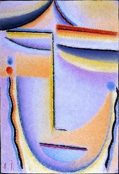 Abstract Head : Bright Sound, Alexei Jawlensky