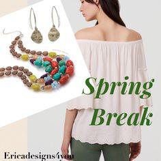 Love the colors in Premier Design's Spring Break necklace.