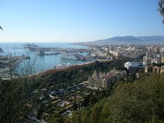 View from Gibralfaro Castle, Malaga