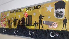 Çanakkale Pre School, Martini, Crafts For Kids, 18th, Education, Cards, Diy, Murals, Paper