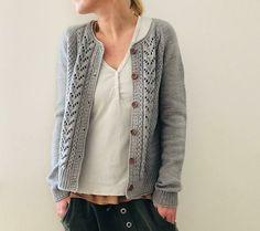 Mariechen Knitting pattern by Isabell Kraemer Knit Cardigan Pattern, Sweater Knitting Patterns, Knit Patterns, Lace Cardigan, Knitting Sweaters, Baby Patterns, Rib Stitch Knitting, Free Knitting, Best Cardigans