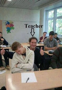 I need to do this! Not that my students ever fall asleep in my class...