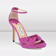 Jimmy Choo Marion evening suede sandals