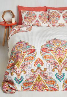 12 Modern + Colorful Quilts to Brighten Up Your Bedroom for Spring