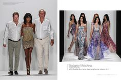 Badgley Mischka Fashion Show during Mercedes-Benz Fashion Week Spring / Summer Collection 2015 Image Credit: © Depositphotos.com / fashionstock #mostmag #Badgleymischka http://mostmag.com/fashion/badgley-mischka/ http://online.pubhtml5.com/dvie/ynee/#p=204-205