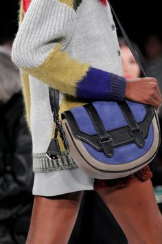 Love this bag! (and everything else in the collection) Rebecca Minkoff Fall '13 #RMFALL