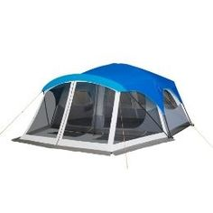 Embark 9 Person Cabin Tent With Screen Porch - 14'x15' | Shop fitness, wellness | Kaboodle http://campingtentslovers.com/best-family-camping-tents/