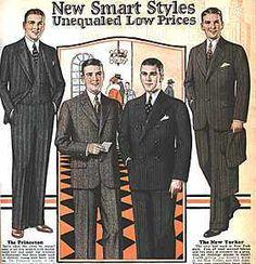 Suits for Men | 1920s