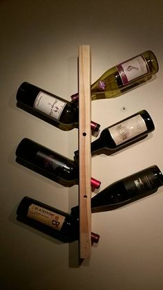 Botellero vertical 6 botellas
