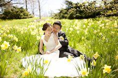 Gemini Photography Ontario - wedding photographer - Angela Y. Martin #yellow #flowers #wedding