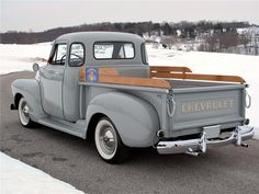 Chevy trucks aficionados are not just after the newer trucks built by Chevrolet. They are also into oldies but goodies trucks that have been magnificently preserved for long years.