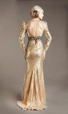 Style: #1135D GOLD (Back)