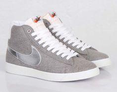 #Beams x #Nike Blazer Mid Granite/Silver on nike webstore