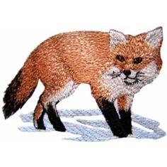 Golden Needle Designs: Wildlife07 - Fox Machine Embroidery Design