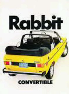 VW Rabbit convertible