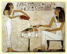 Egyptian beer pour