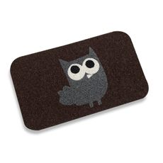 The cutest doormat ever! Who wouldn't want to come inside when they see this at the door?!