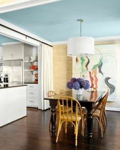 rooms with blue ceilings - Google Search