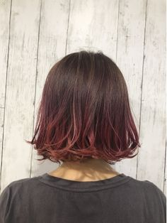 Hair Color Streaks, Hair Color Pink, Hair Color And Cut, Cool Hair Color, Pink Hair, Dip Dye Hair, Dyed Hair, Coloured Hair, Ombre Hair