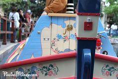 Fantasyland - Storybook Land Canal Boats; Snow White Boat