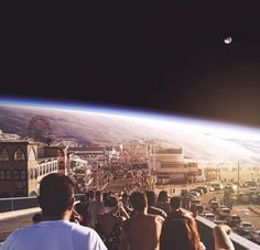 Espectaculares fotografías surrealistas al estilo Inception | Planeta Curioso