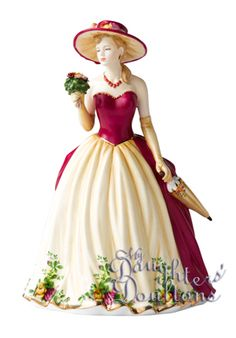 Royal Albert Old Country Roses 2010 Figure of the Year Royal Doulton . Royal Doulton, Porcelain Ceramics, China Porcelain, Porcelain Doll, Thomas Kinkade, My Fair Lady, China Dolls, Collectible Figurines, Royal Albert