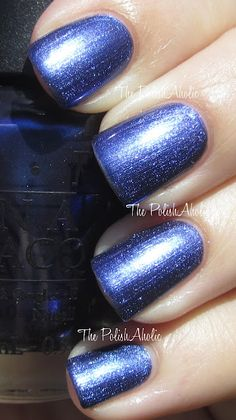 Currently rockin this color The PolishAholic: OPI The Amazing Spiderman Collection Swatches! Opi Nail Polish, Nail Polish Designs, Opi Nails, Nail Polish Colors, Nail Polishes, Colorful Nail Designs, Cool Nail Designs, The Art Of Nails, Solid Color Nails