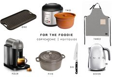 Copy Cat Chic Gift Guide | My favorite picks for the foodie with @LodgeCastIron @vitaclaychef @fermliving @nespresso @staubcastiron @zwillingjah and #SMEG