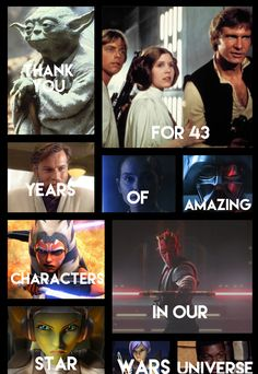 Thank you for Star Wars. By Mint Animation.