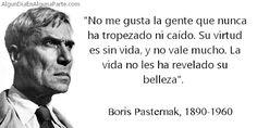 """El 10 de febrero de 1890, #TalDíaComoHoy nació el novelista y poeta ruso Boris Pasternak, autor de la célebre obra """"Doctor Zhivago"""", con la que alcanzó fama mundial. Obtuvo el Premio Nobel de Literatura 1958, al que se vio obligado a renunciar por las presiones del régimen socialista de su país. Falleció el 30 de mayo de 1960."""