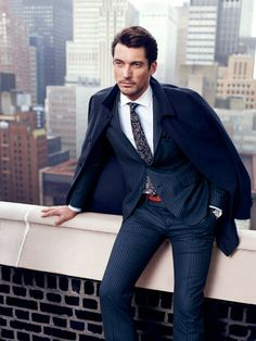 David Gandy for Massimo Dutti NYC by Hunter & Gatti