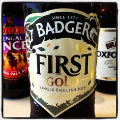 Badger First Gold Ale - Single English Hop - 4% ABV