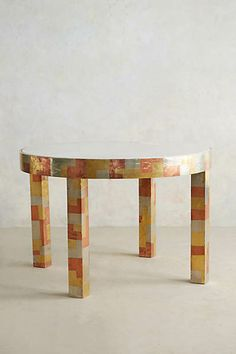 Metallic Mosaic Cafe Table