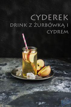 Drink z żubrówką i cydrem