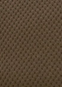 Stretch Pique Dutch Chocolate fabric is. Memory stretch cover in waffle textured fabric will stretch up to 30% and contours to your furniture like a glove #sofacushioncovers Sectional Covers, Daybed Covers, Sofa Cushion Covers, Custom Slipcovers, Furniture Slipcovers, Contours, Custom Furniture, Glove, Waffle