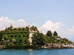 Isole Borromee - Particolare giardino di Isola Bella dal lago