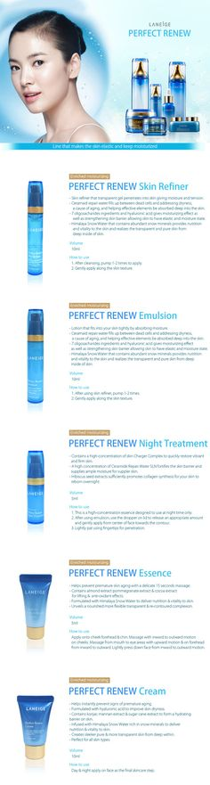Laneige Perfect Renew Travel Kit