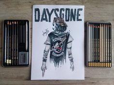 Další herní věcička #daysgone #art #artist #draw #drawing #hardtmuth #pencil #boy #sketch #game #playstation # Easy Drawings, Pencil Drawings, Playstation, Drawing Ideas, Art, Ideas For Drawing, Art Background, Easy Designs To Draw, Kunst