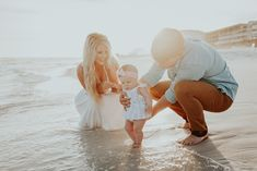 It's so important to document every step of the way with littles. They're only small for such a short time. We were able to capture the water flowing ever so gently over the toes of this princess and it's a memory that will last a lifetime.  Family Beach Pictures Family Beach Photographer Beach Photography