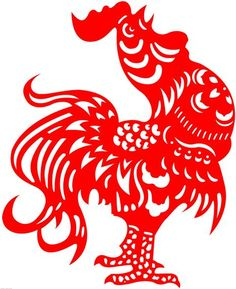 rooster papercut - Google Search