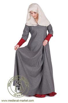 Lady's surcoat type 4. Medieval Market, Surcot damski typ 4