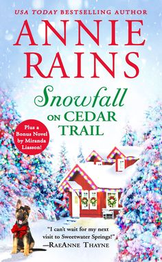 "Read ""Snowfall on Cedar Trail Two full books for the price of one"" by Annie Rains available from Rakuten Kobo. From a USA Today bestselling author comes a heartwarming holiday romance between the a small-town florist and the handso. Ghost Of Christmas Past, Christmas Books, A Christmas Story, Christmas Themes, Cozy Christmas, Christmas Images, Romance Authors, Romance Books, Good Books"