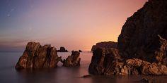 Spain - Pendueles La Playa de Castiellu -