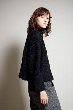 Lauren Manoogian Sherpa Pullover in Black